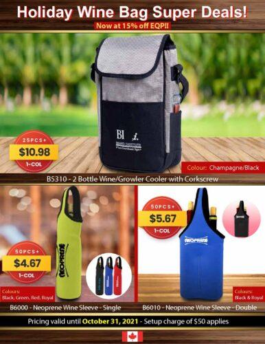 Holiday Wine Bag Super Deal